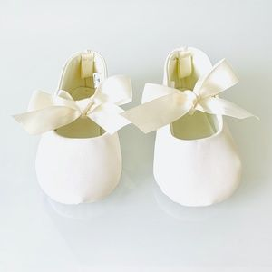 Other - White Baby Girl Shoes